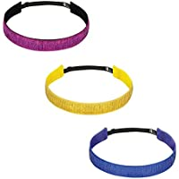 BaniBands 3-Pack Headbands for Women Sports | Perfect for...