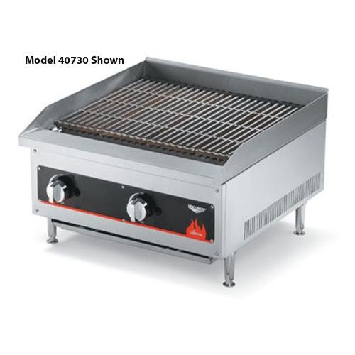 Radiant/Lava Rock Charbroiler - Cayenne Series (Electric Countertop Charbroiler)