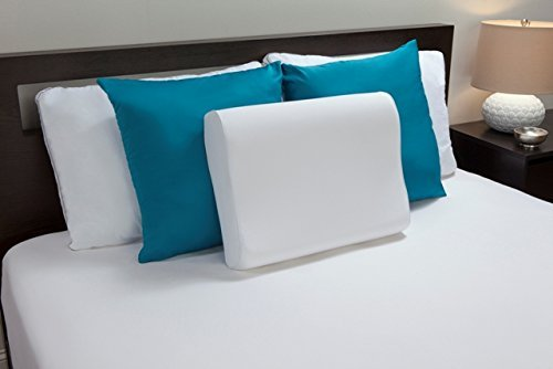 (Comfort Revolution Memory Foam Contour Pillow)