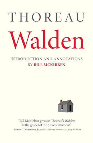 Walden: With an Introduction and Annotations by Bill McKibben (Concord Library)