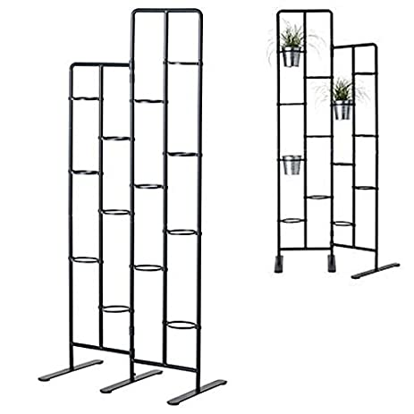 Vertical Metal Plant Stand 13 Tiers Display Plants Indoor Or Outdoors On A  Balcony Patio Garden