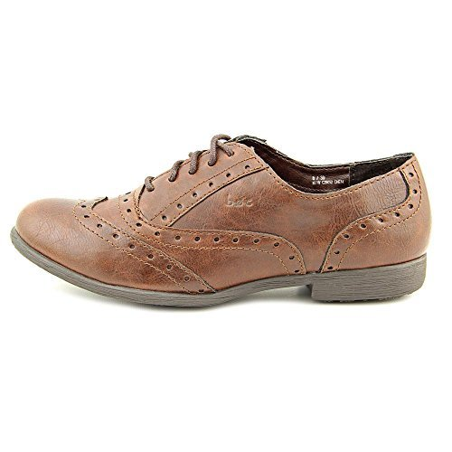 B.O.C. Suzette Women's flats & oxfords, Coffee PU, Size 7.0 US