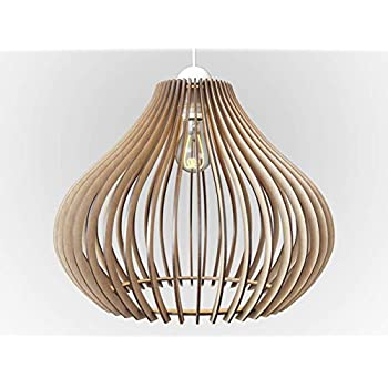 Wood Ceiling Pendant Light Modern Amp Contemporary Hanging