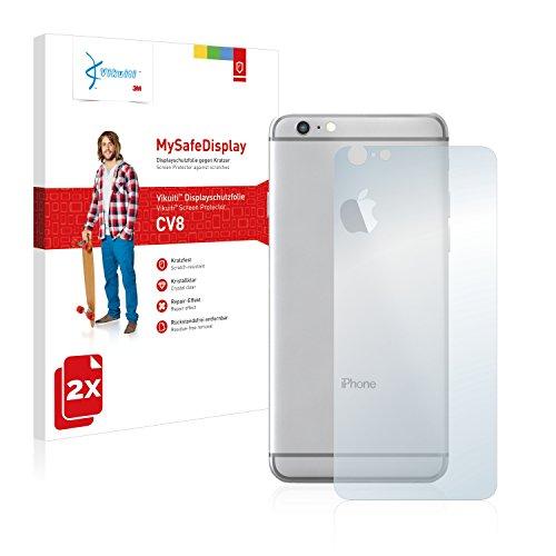 2x Vikuiti MySafeDisplay Pellicole Protettiva Schermo CV8 da 3M per Apple iPhone 6S Plus Posteriore (intera superficie)