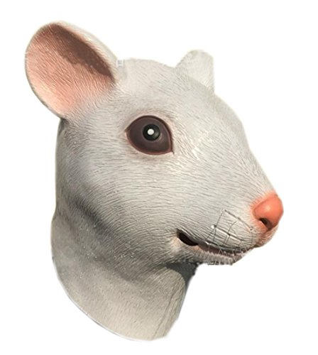 DylunSky New Halloween Realistic Mouse Latex