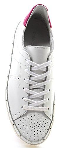 New Nuove Bianche Sneakers Minkoff Donna Michell White Low Nappa Rebecca Scarpe p8qnSFnC