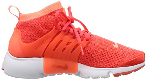 Zapatillas Para Correr Nike Mujeres Air Presto Flyknit Ultra Bright Mango / Bright Crimson