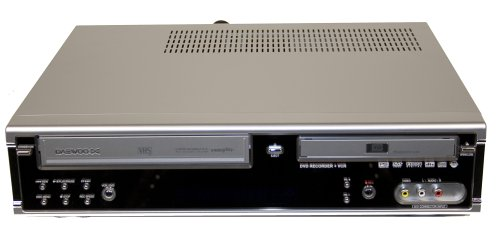 Daewoo DF4150 Multi-region Capable DVD Recorder +RW & VCR ...