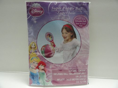 - Disney Princess Super Paddle Ball