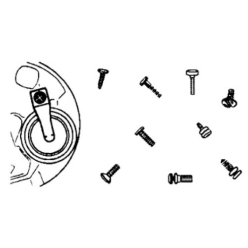 Watch Battery Clamp Screws, 100 Pieces