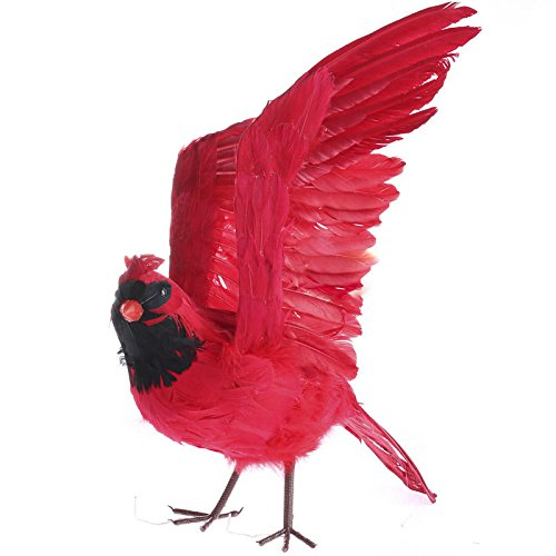 Factory Direct Craft Large Flying Feathered Artificial Cardinal Bird with Attached Wires by Factory Direct Craft (Image #3)
