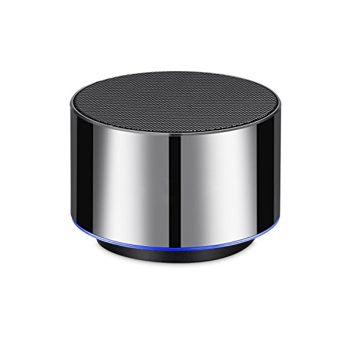 Portable Wireless Bluetooth Speaker Mini Portable Speaker with Built-in-Mic, Handsfree Call,AUX Line,TF Card,HD Sound and Enhanced Bass for iphone, ipad,PC,Cellphone