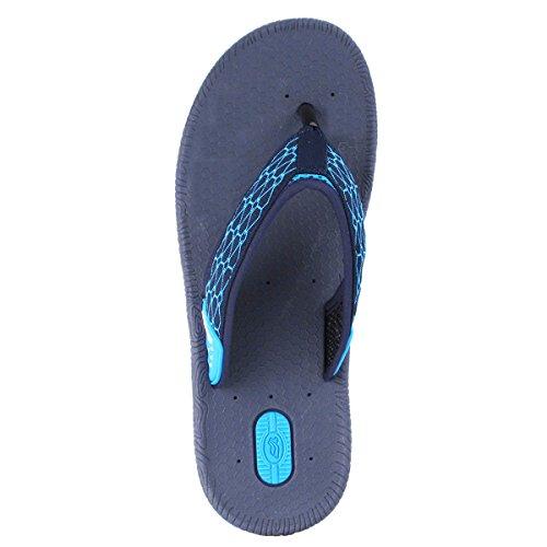Gouden Duifschoenen Gp5842 Heren Dames Lichtgewicht Hoogbounce Comfort Outdoor Water Flip Flops 7504 Blue Navy