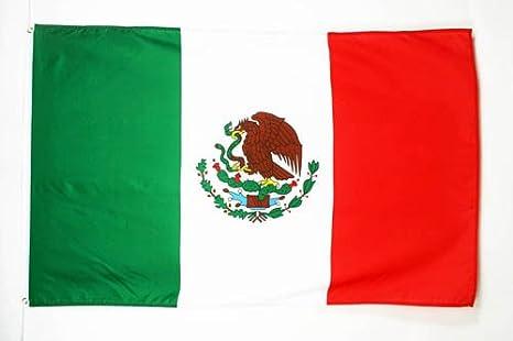 AZ FLAG Bandera de MÉXICO 150x90cm - Bandera Mexicana 90 x 150 cm ...
