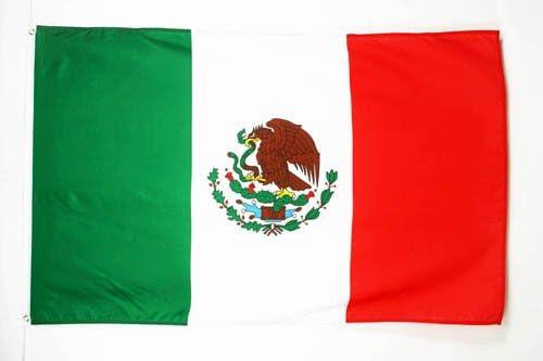 AZ FLAG Bandera de MÉXICO 90x60cm - Bandera Mexicana 60 x 90 cm ...