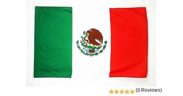 AZ FLAG Bandera de MÉXICO 250x150cm - Gran Bandera Mexicana 150 x ...