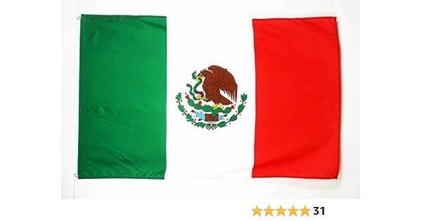 AZ FLAG Bandera de MÉXICO 250x150cm - Gran Bandera Mexicana 150 x 250 cm: Amazon.es: Jardín