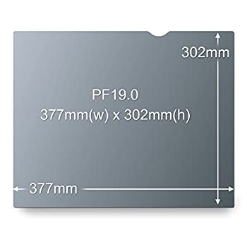 "3m Privacy Filter For 19"" Standard Monitor, Protect Your Confidential Information, Reduces Glare & Reflections (5:4) (Pf190c4b) 4"
