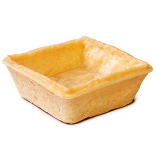 2'' X 2'' Savory Square Tartelette - 120 Per Case