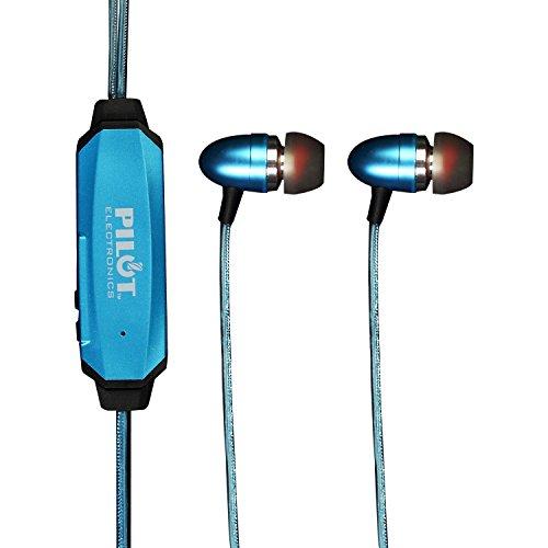 Pilot Electronics EL-1300B Electroluminescent V2 Audio Response Headphones, Blue