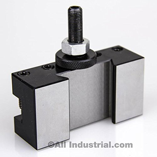 BXA #1 QUICK CHANGE TURNING & FACING LATHE TOOL POST HOLDER (250-201) by All Industrial (Image #1)