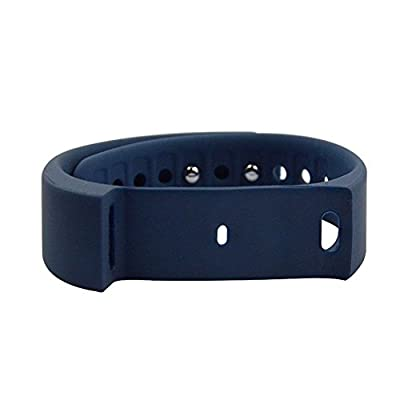 LENDOO I5 Plus Smart Bracelet Step Pedometer IP65 Waterproof Fitness Tracker Sports Wristband Bluetooth 4.0 Tracking Calorie Health Sleep Monitor Wristband for Android IOS Phones (Blue Band)