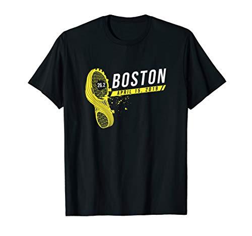 (Boston Runner 26 Mile Finisher Marathon TShirt 2019)
