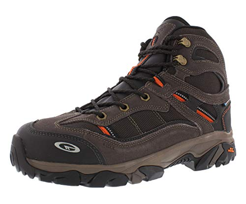 Hi-Tec Men's X-T Explorer Mid I WP ST Boots Chocolate/Burnt Orange 12 M