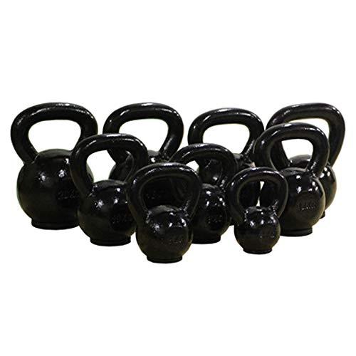 Valor Fitness Kettle Bell, Black, 6kg