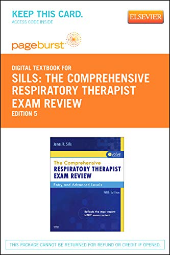 The Comprehensive Respiratory Therapist Exam Review - Elsevier eBook on VitalSource (Retail Access Card)