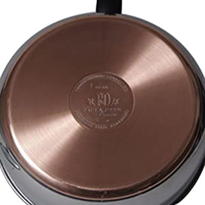 Paula Deen Signature Stainless Steel 2-Quart Covered Saucepan