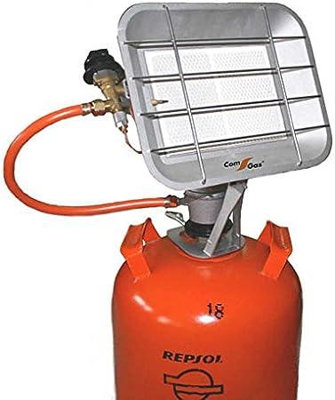 Com Gas 5000 5000-Estufa de Pantalla de Rayos Infrarrojos, 9.5x31x23 cm