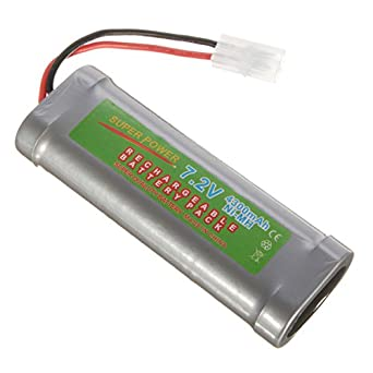 ExcLent 7.2V 4300Mah Ni-Mh Rechargeable Battery Pack For Toy ...