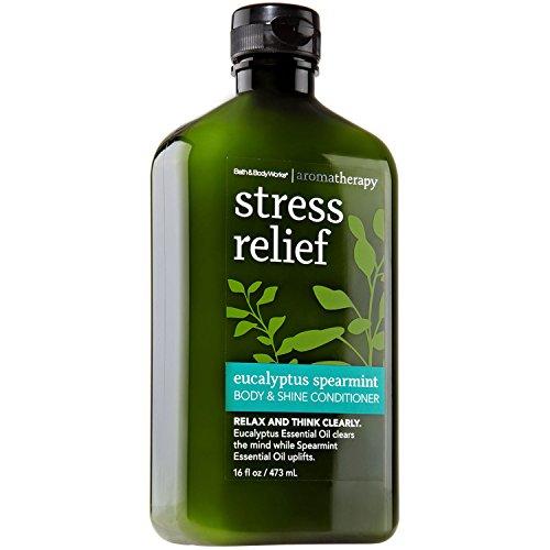 Bath and Body Works Aromatherapy Stress Relief Eucalyptus Spearmint Body & Shine Conditioner ()