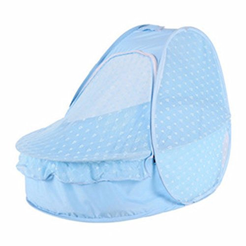 mosquito nets outdoor baby mosquito nets,blue SJQKA-Mongolia bag mosquito net baby can not install folding baby mosquito net cover