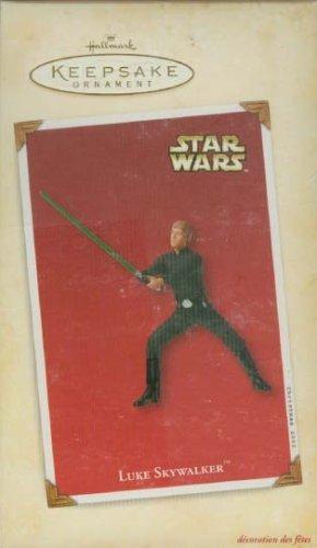 Star Wars Holiday Ornament - Hallmark Star Wars Jedi Luke Skywalker Keepsake Holiday Ornament