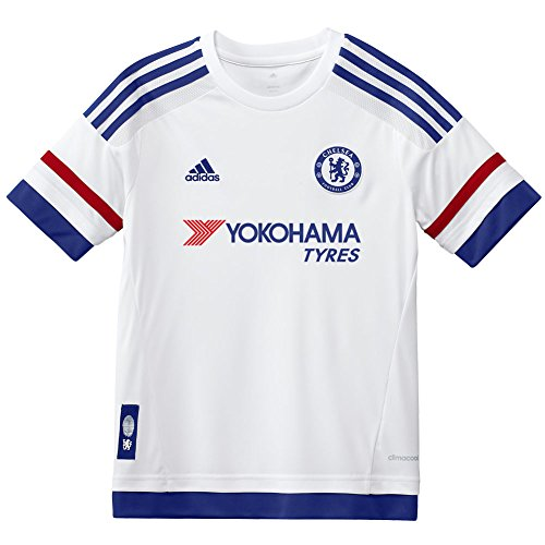 (adidas Chelsea Away Youth Jersey 2015-2016 (Youth X-Large) White)