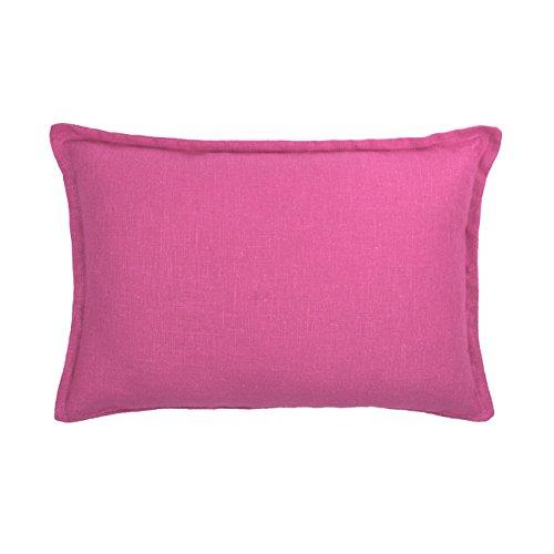 Sherry Kline Frisco Linen Reversible Boudoir Decorative Pillow, Rectangular 13