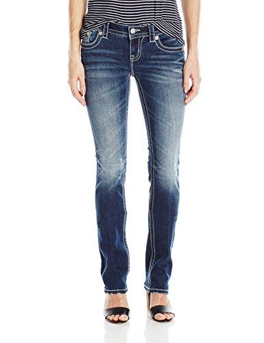 Miss Me Women's Studded Straight Leg Jean, MK, 27
