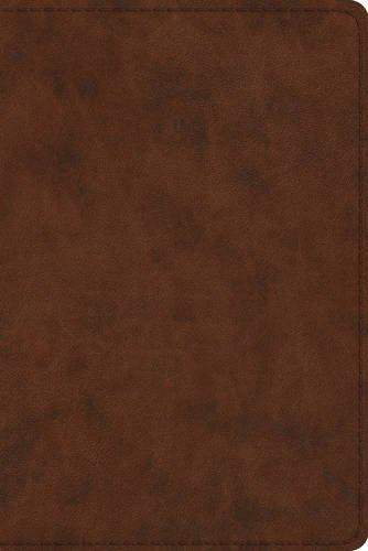 ESV Study Bible, Personal Size (TruTone, Brown)