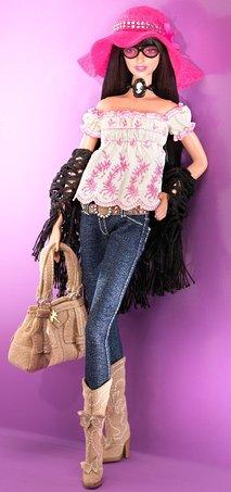 - Barbie Designer Collecton Gold Label - Anna Sui Boho Doll