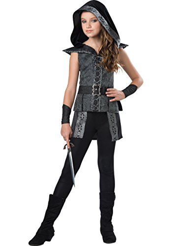 Cool Halloween Costumes For Tween Girls (InCharacter Costumes Big Girl's Dark Woods Huntress Medium Childrens Costume, Multi, Medium)