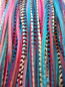 "Feather Hair Extension 6""-11"" Gorgeous Light Pink Grizzly for sale  Delivered anywhere in USA"