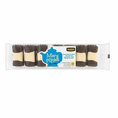 Mergpijpjes 200 g holländischer Kuchen Gebäck mit Marzipan und ...
