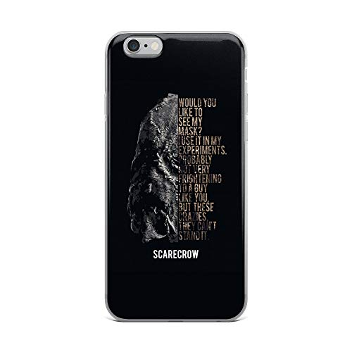 iPhone 6 Plus/6s Plus Case Anti-Scratch Motion Picture Transparent Cases Cover Scarecrow My Mask Action Movies Video Film Crystal Clear]()