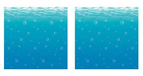 Beistle S52071AZ2 undersea backdrop -