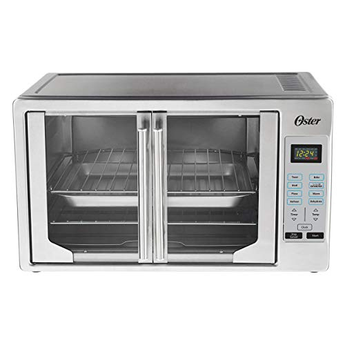 Oster TSSTTVFDDG Digital French Door Oven, Extra Large, Stainless Steel