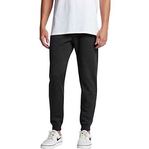 Hurley MFB0000750 Men's Therma Protect Plus Pant In, Black Heather - XXL