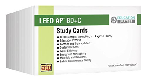 LEED AP®BD+C Exam Preparation Guide Study Cards