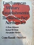 East European Military Establishments 9780844814056